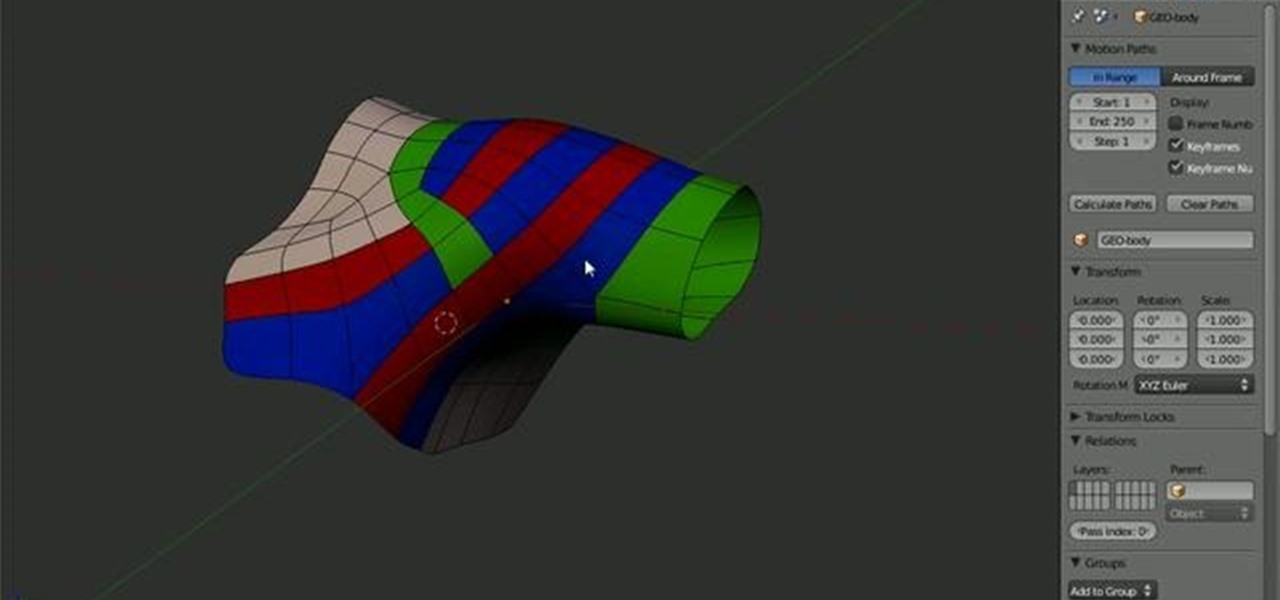 How to Model the topology of a human shoulder in Blender