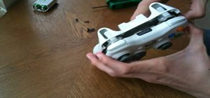 Dismantle a wireless Xbox 360 console controller