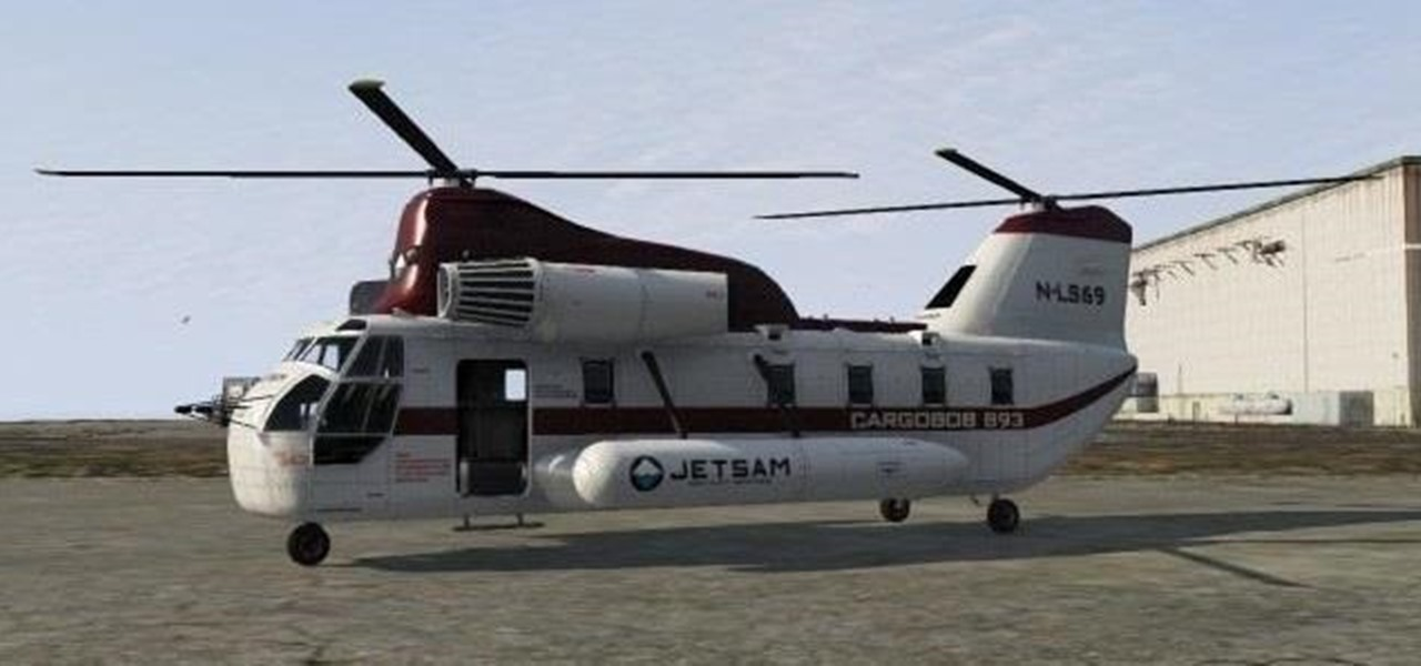 Purchase Your Very Own Cargobob Helicopter in GTA 5 Online
