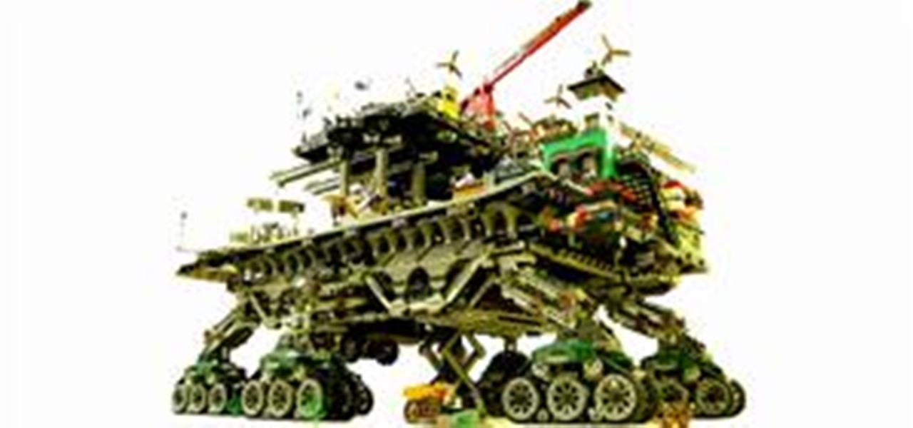 Insane Eco Punk Lego Crawler Town 171 Construction Toys