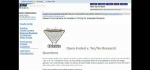 Use open-ended research questions in research papers