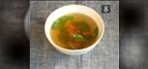 Make beef consomme