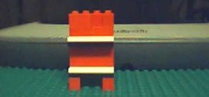 Make a LEGO bookcase