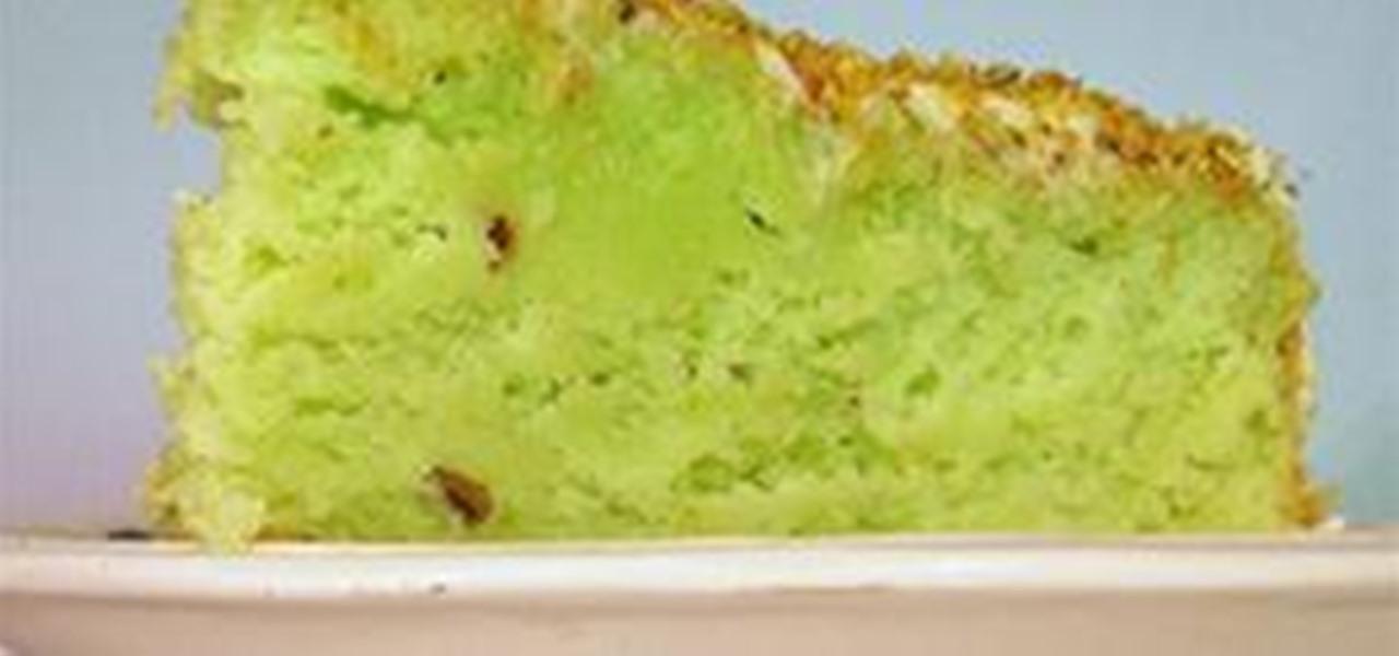RECIPE: Neon Green Pistachio Cake « CAKES! CAKES! CAKES!