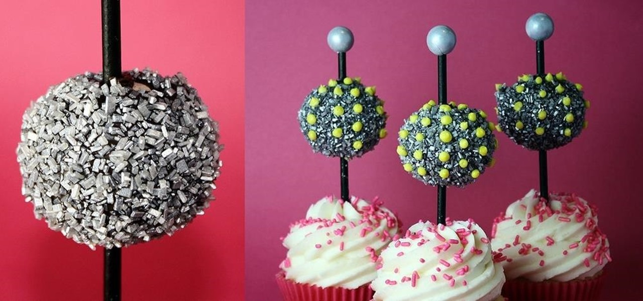 Make Ball Drop Cupcakes for New Year's Eve