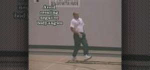 Train using linear skip and crossover drills