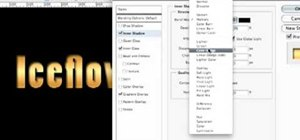 Create gold text in Photoshop