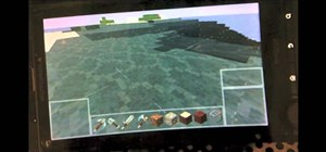 Play Minecraft on an Android smartphone