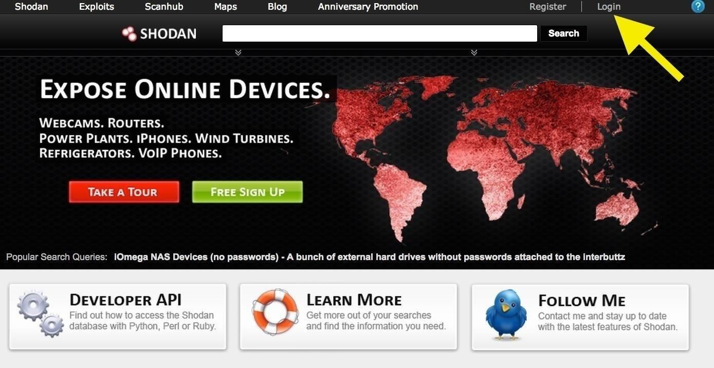 Hack Like a Pro: How to Find Vulnerable Webcams Across the Globe Using Shodan