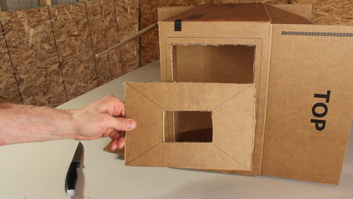 Кинопроектор своими руками из коробки