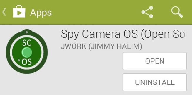 You can find Spy Camera OS for free on Google Play. The developer also ...
