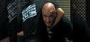 Do Bas Rutten's escape from a guillotine choke