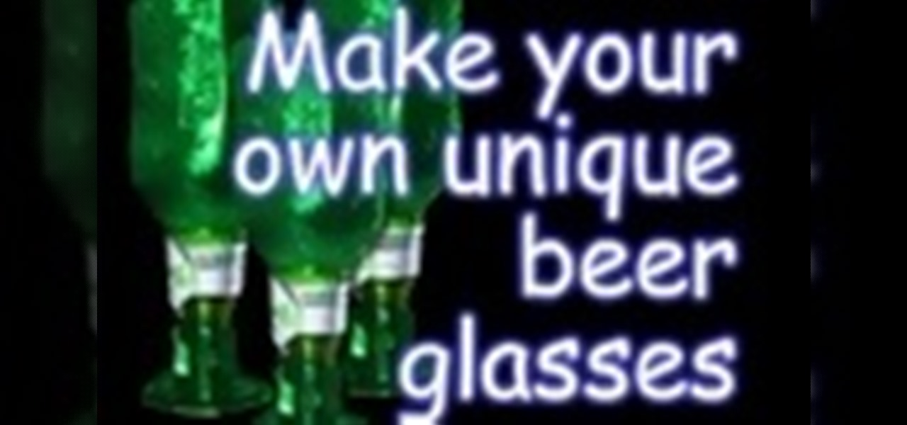 How to make a glass out of a beer bottle glass crafts for Glasses made out of bottles