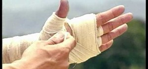 Wrap your fists Muay Boran style for Muay Thai boxing