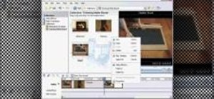 Use the timeline in Windows Movie Maker