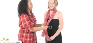 Tie your scarf in a bow