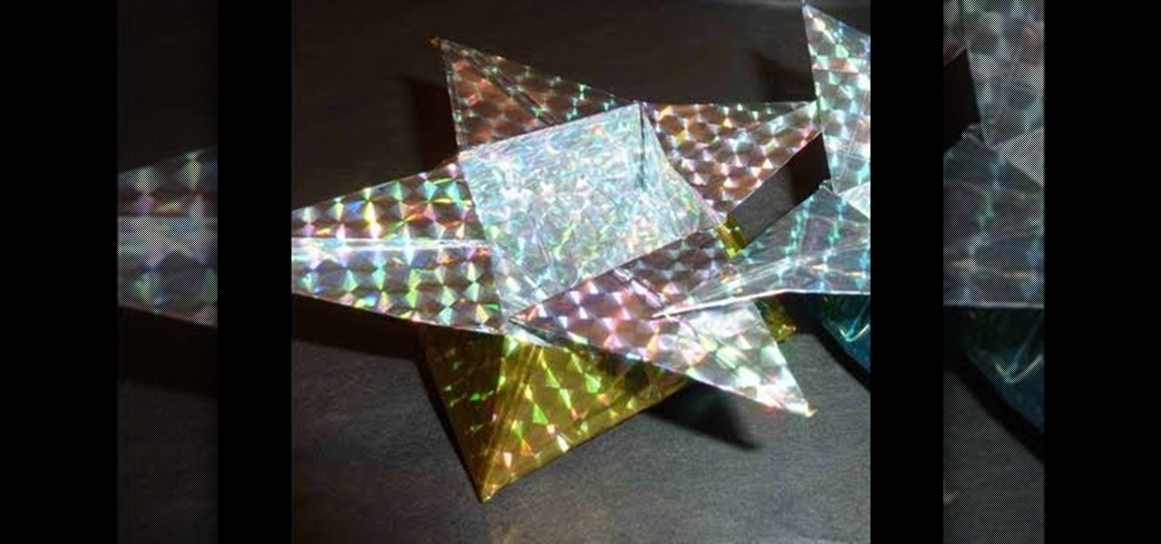 How To Make A Sparkly Ninja Star Origami Storage Box Origami