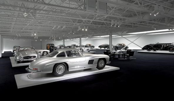 "Ralph Lauren's Decadent ""Garage"" (Re: Luxury Auto Museum)"