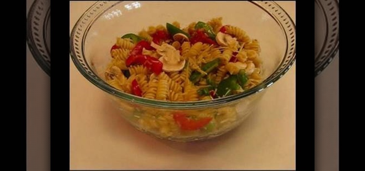 how to make pasta salad jamaican style