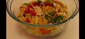 Make healthy Italian style pasta salad with Betty