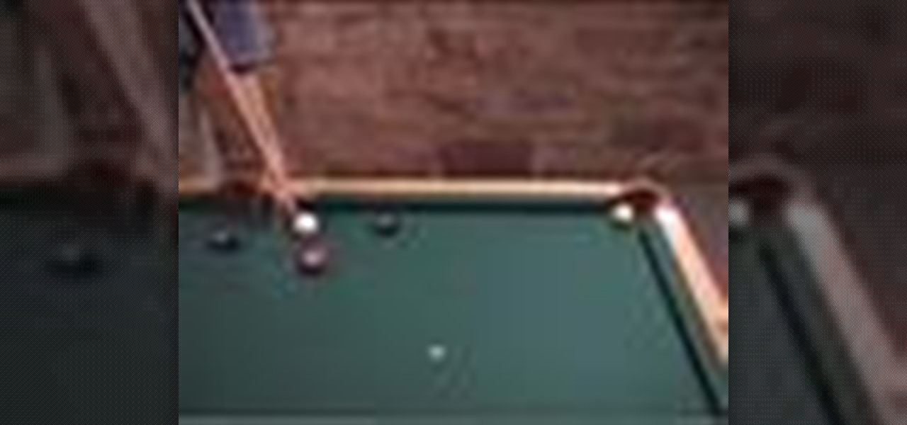 How To Make A Largecurve Massé Shot Billiards Pool WonderHowTo - Masse pool table