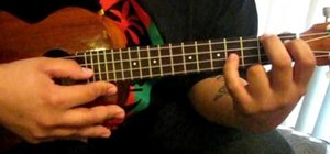 """Play Ben E. King's """"Stand by Me"""" on the ukulele"""