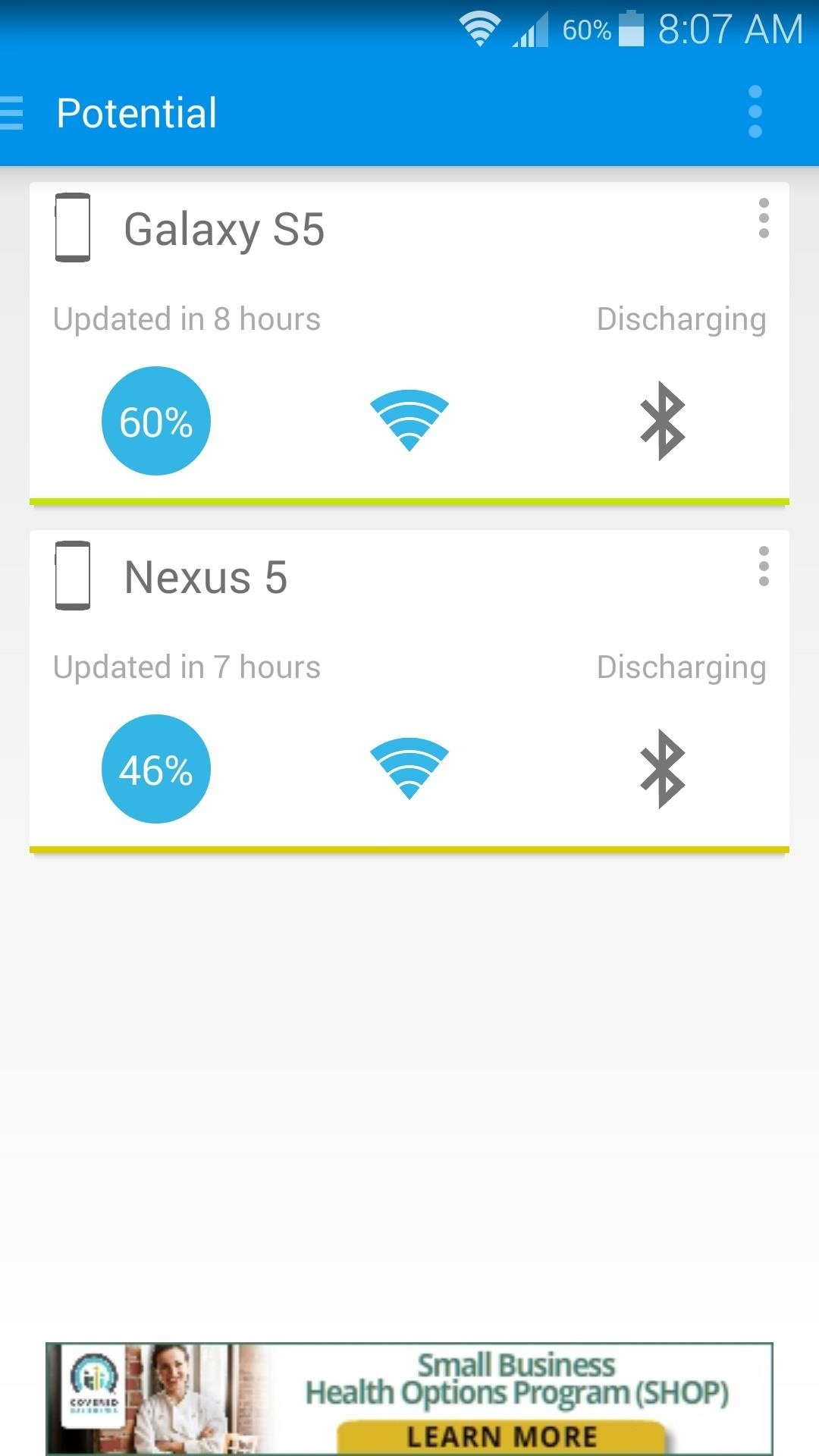 How to View Battery Levels for All of Your Devices in One App
