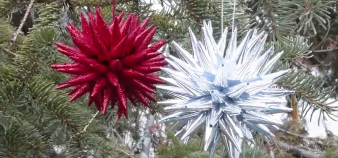 How To Create Polish Star Christmas Ornaments Out Of Paper Ideas Wonderhowto