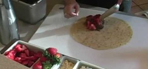 Serve a traditional French crepe