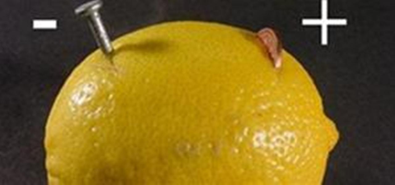 Make A Lemon Battery 171 Hacks Mods Amp Circuitry