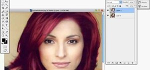 Change hair or eye color with quick masks in Photoshop