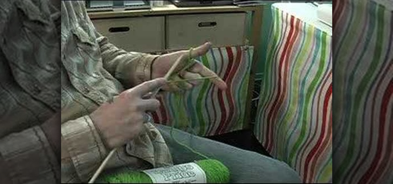 Knitting Cast On Long Tail Method : How to do the long tail cast on method in knitting