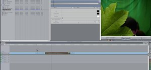 Use Alpha Transitions in Final Cut Pro 7