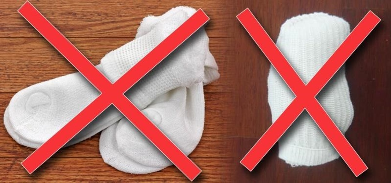 "How You Should Really ""Fold"" Socks to Prevent Stretching Them Out"