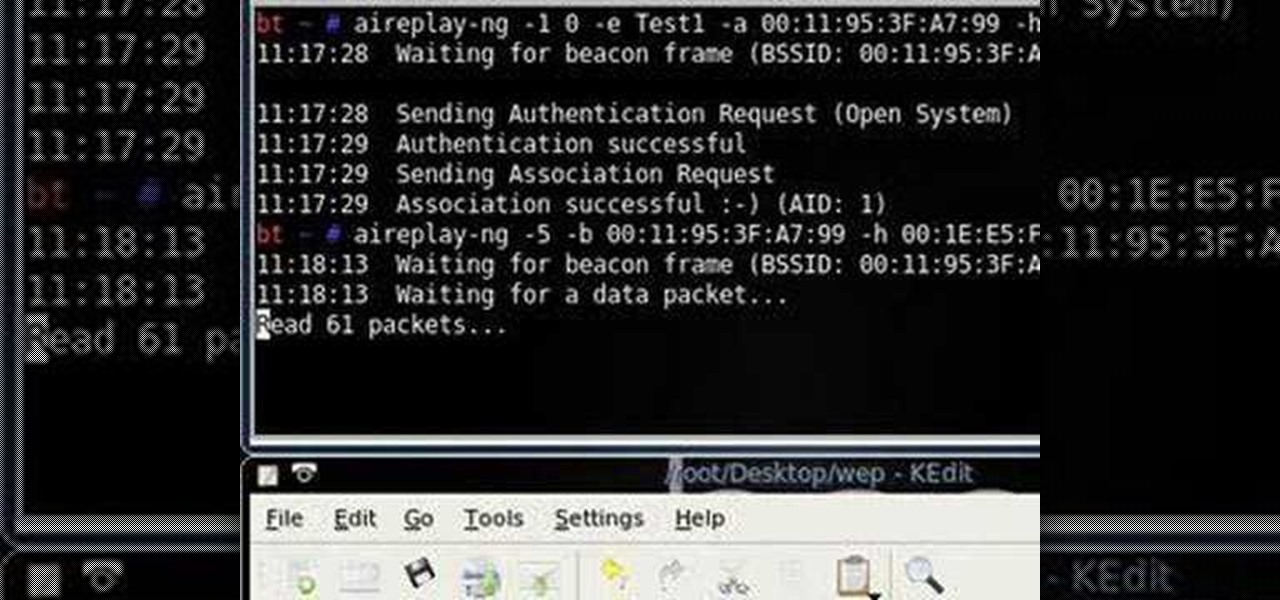 Aircrack Iphone