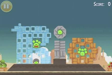 Beat Level 3 Theme 1 Angry Birds Halloween With Three Stars1280x600 ...