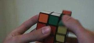 Start blindsolving the Rubik's Cube