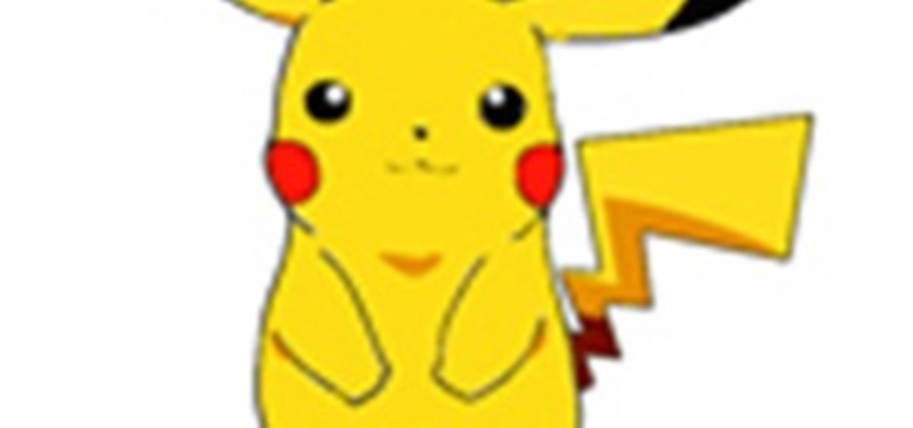 Draw Pikachu (Pokemon)