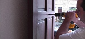 Install a door viewer for home safety