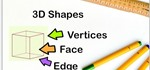 How to Identify the Faces, Edges, and Vertices of a 3D Shape