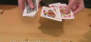 "Perform the ""four burglars"" card trick"