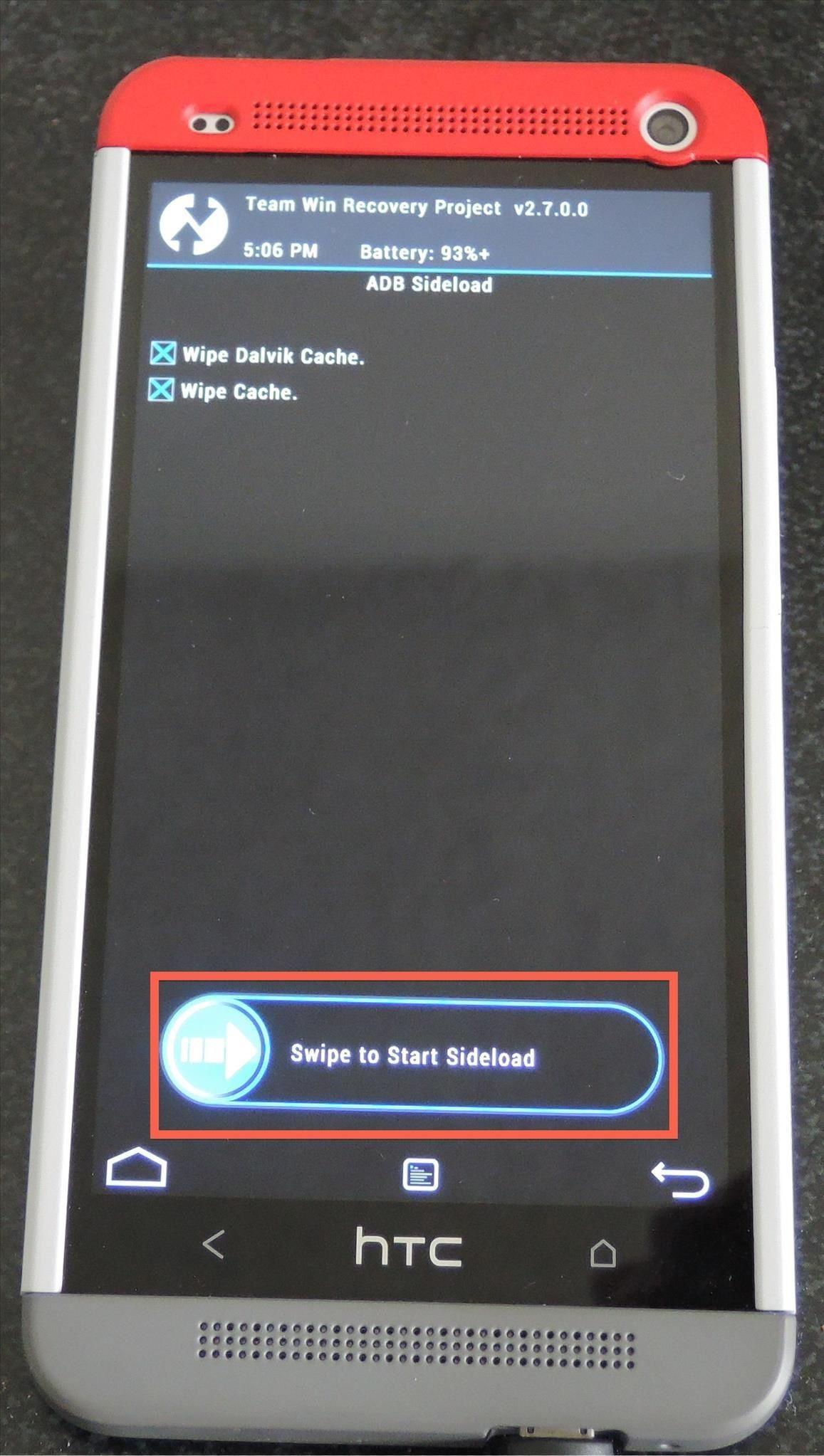 How to Fix a Soft-Bricked HTC One by Flashing a New ROM via ADB