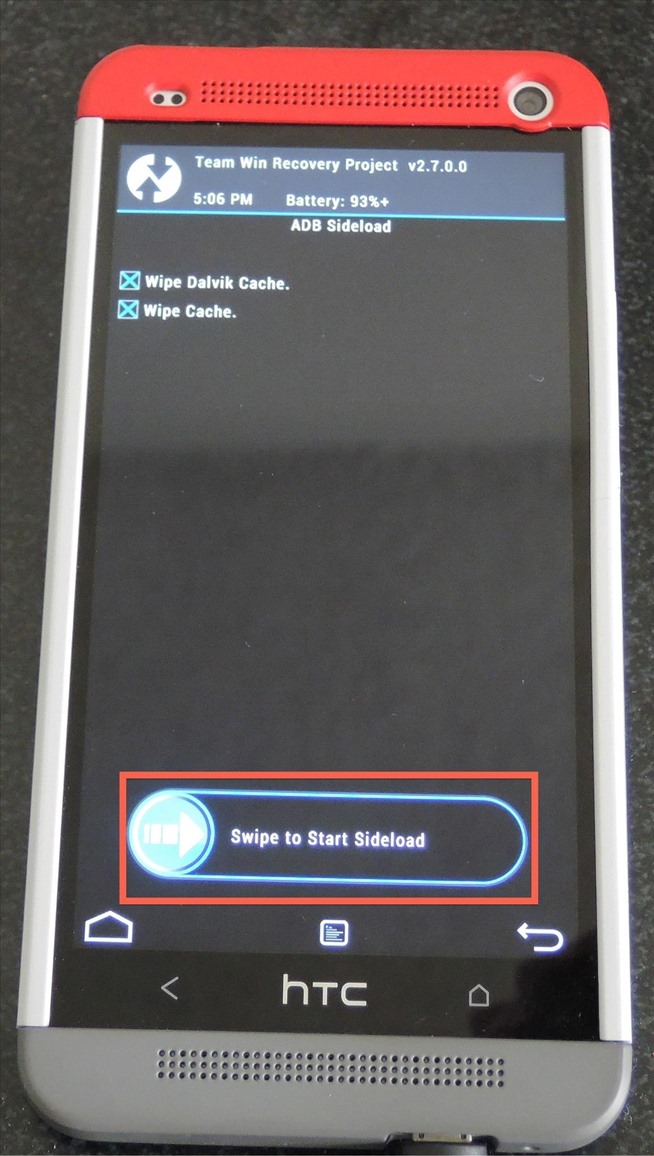 How to Fix a Soft-Bricked HTC One by Flashing a New ROM via ADB ...