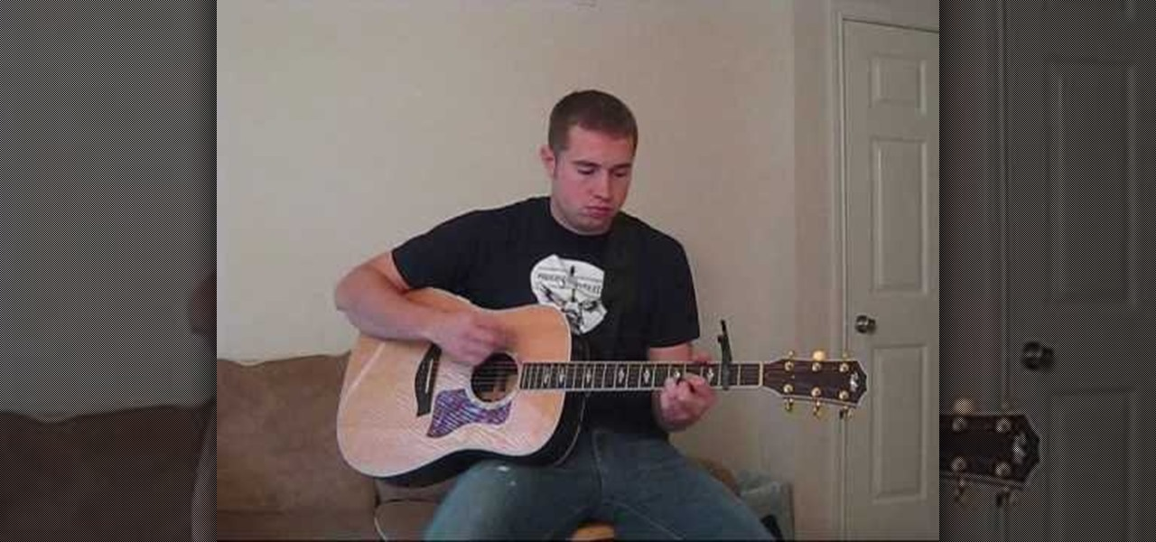 How To Play Wagon Wheel By Old Crow Medicine Show On Guitar