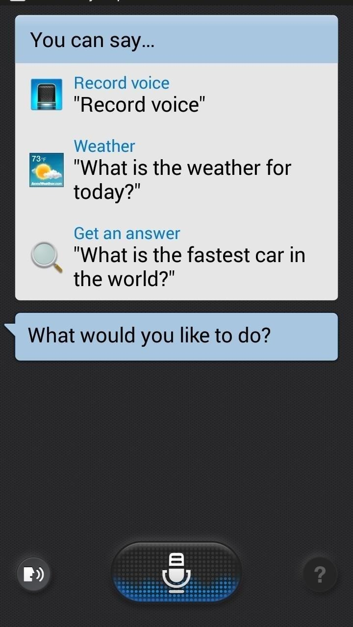 How to Get the Galaxy S5's New S Voice App on Your Samsung Galaxy S4
