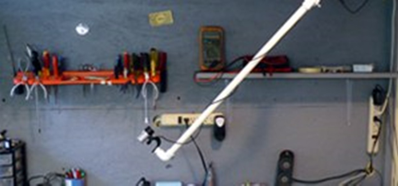 Pvc Pipe Camera : Overhead camera boom made with pvc pipe « innovation