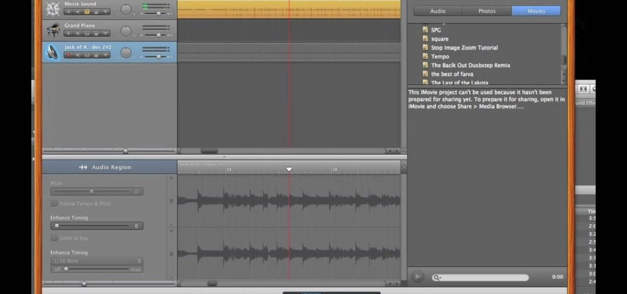 How to Remove Vocals from a Song Using GarageBand « GarageBand ...