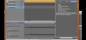 Play a song in reverse using GarageBand and iMovie
