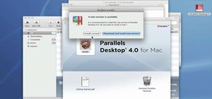 Download & install Parallels on a Mac
