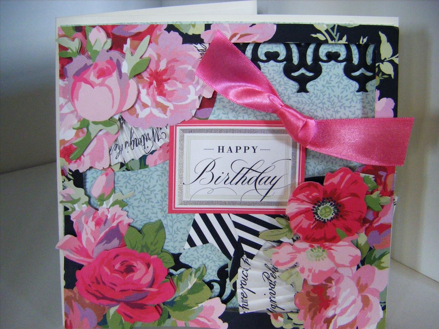 How to Make a Rose Designer Collection Floral Card